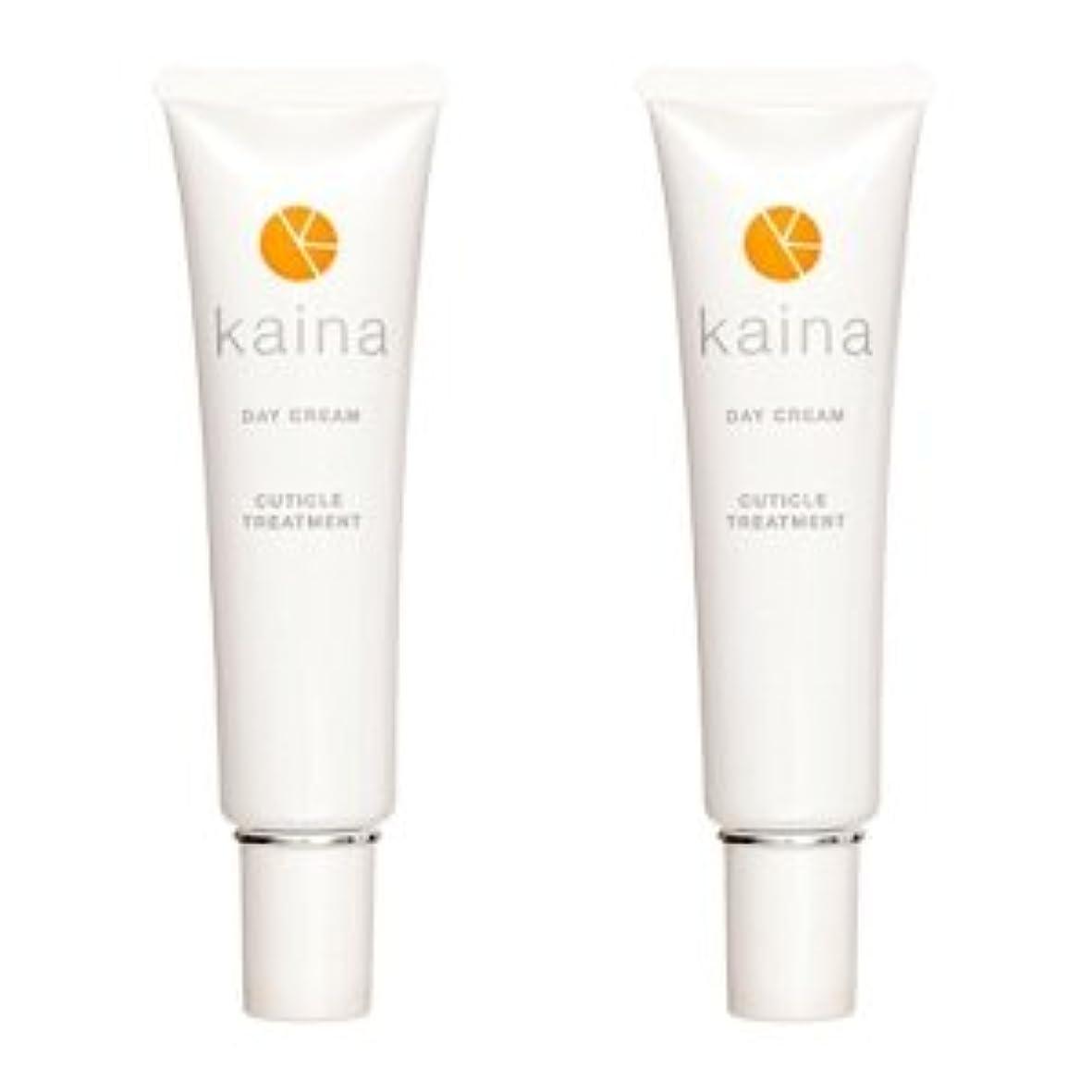 【2本セット】kaina BNK-001 デイクリーム 爪用保湿クリーム 毎日のツメのケアに