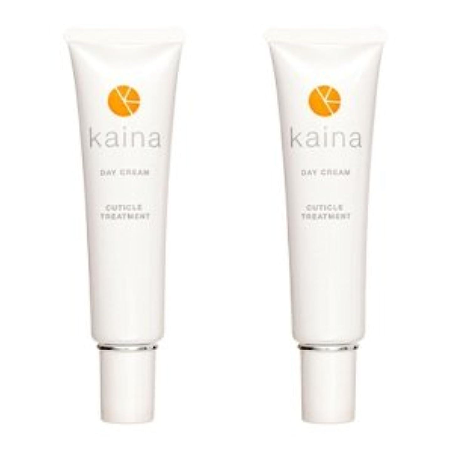 意識巻き取り浴室【2本セット】kaina BNK-001 デイクリーム 爪用保湿クリーム 毎日のツメのケアに