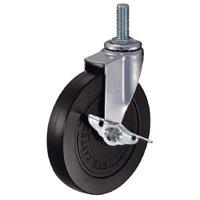 キャスター:ハンマーキャスターネジ込み車:(プレスタイヤ車輪):415EA-PR 150mm