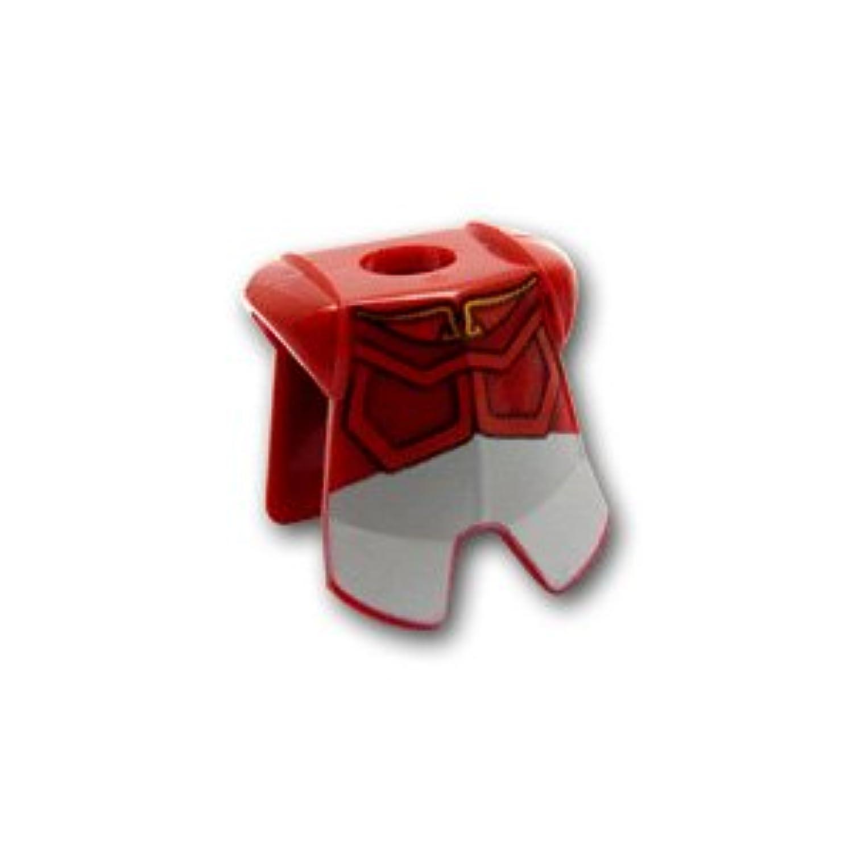 レゴミニフィグパーツ 鎧 - 胸当て - アバタープリンス:[Dark Red / ダークレッド] 【並行輸入品】