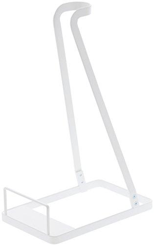 RoomClip商品情報 - 山崎実業 クリーナースタンド スティッククリーナースタンド 掃除機たて プレート ホワイト 3275