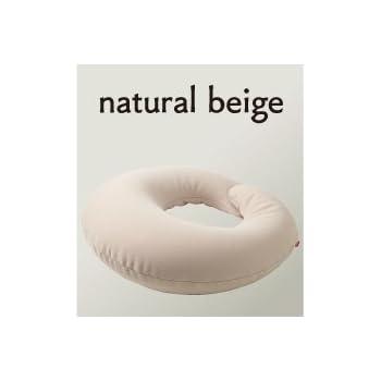 ハナロロ【HUG】(ナチュラルベージュ) 国産 抱かれまくら 授乳クッション 補充できるビーズクッション