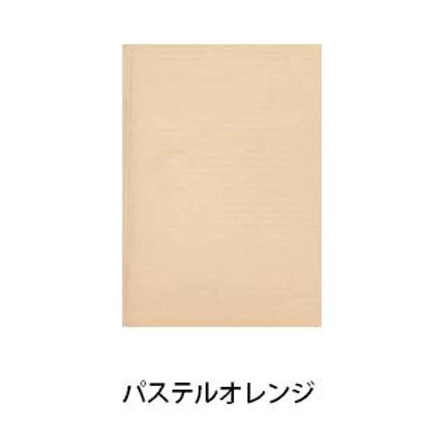 特徴づける同一の緑【パステルシリーズ】100枚入り ネイルシート ペーパークロス (パステルオレンジ)