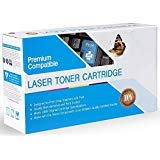 Premium Printing Products 互換インクカートリッジ HP Q7581Aの交換用 対応機種: Color Laserjet 3800, 3800DN, 3800DTN, 3800N, CP3505, CP3505DN, CP3505N, CP3505X シアン