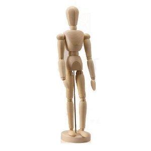 デッサン人形としてもGood 14の関節で多彩なポーズを演出 インテリア人形...