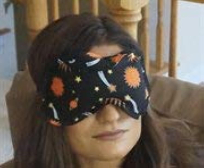 性質のアプローチアロマセラピーEye枕、天体ブラック