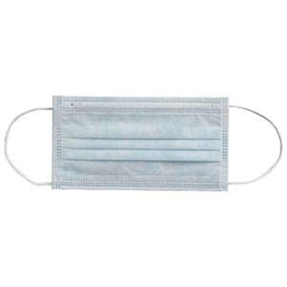 カエル種類常習者(まとめ) 川西工業 メディカルマスク3PLY ブルー【×30セット】