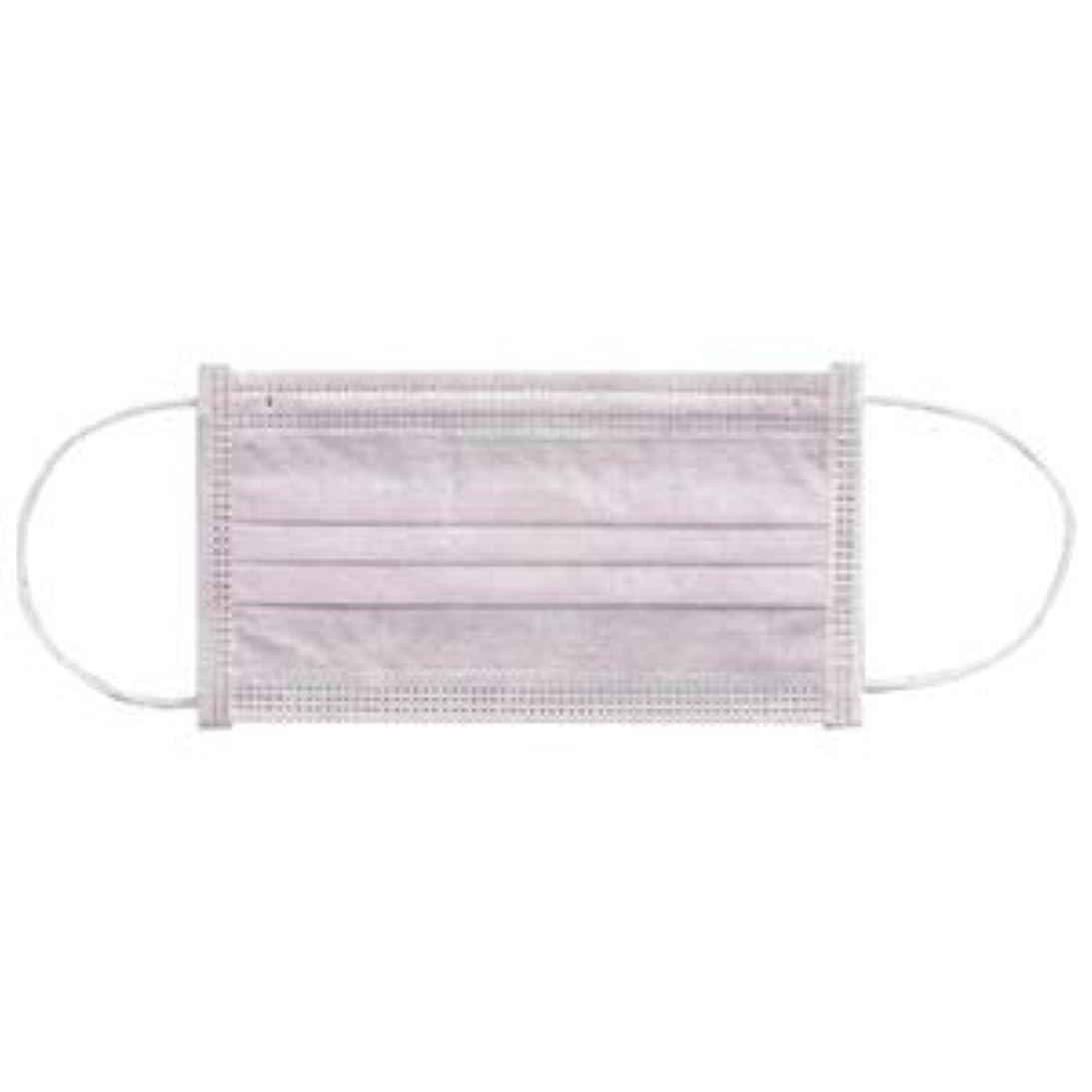 保守的女優時制(まとめ) 川西工業 メディカルマスク3PLY ピンク【×30セット】