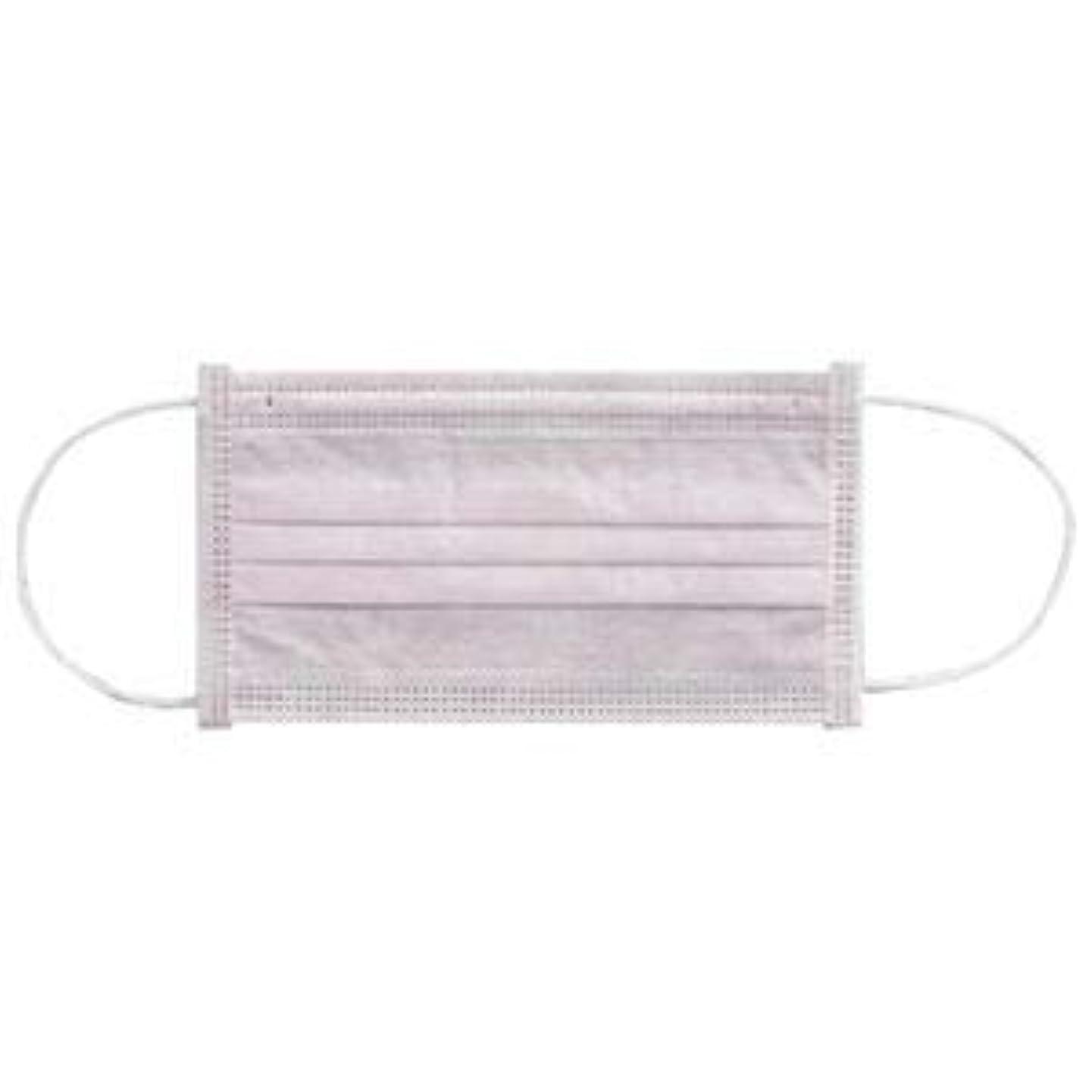 レンズ未払いスポーツ(まとめ) 川西工業 メディカルマスク3PLY ピンク【×30セット】