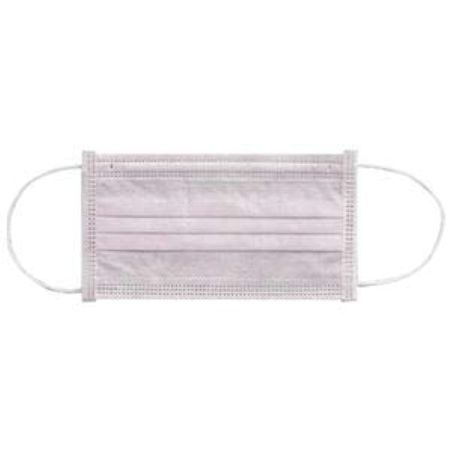 (まとめ) 川西工業 メディカルマスク3PLY ピンク【×30セット】