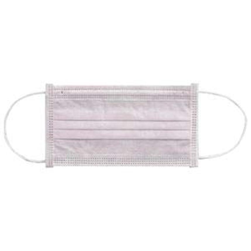 トリップ一貫した(まとめ) 川西工業 メディカルマスク3PLY ピンク【×30セット】