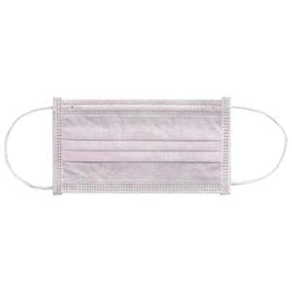 化石分ハイライト(まとめ) 川西工業 メディカルマスク3PLY ピンク【×30セット】