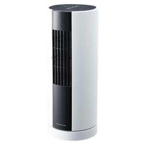 ドウシシャ デスク タワー ファン 扇風機 ホワイト FTQ-301