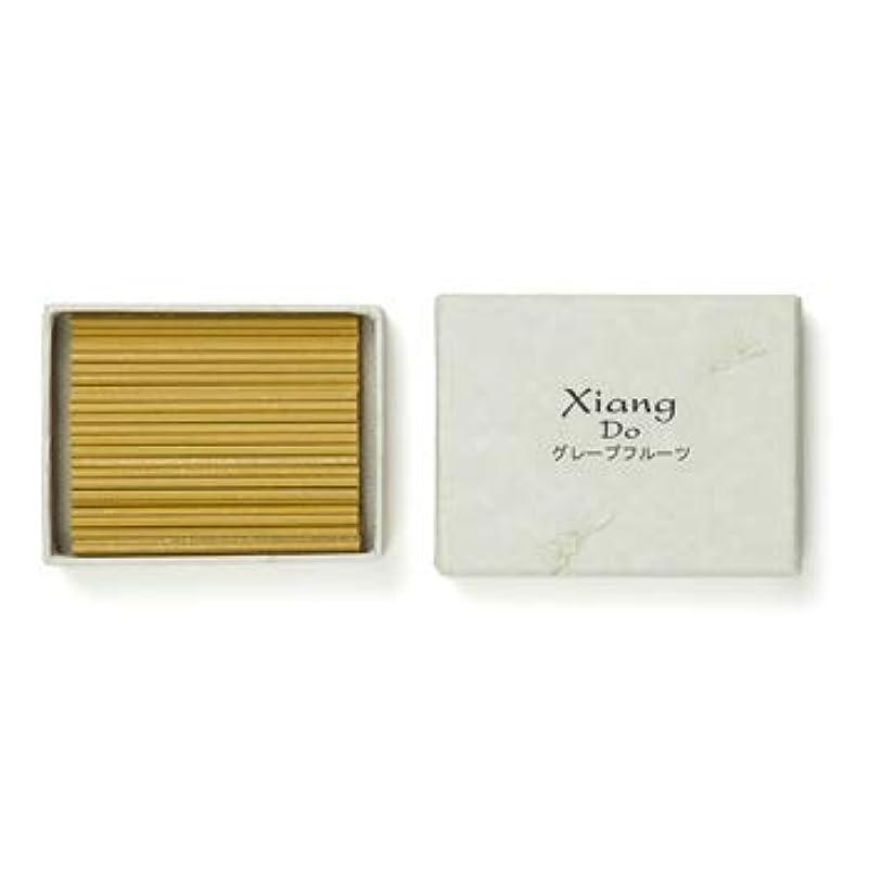 ライフルより平らなパネル松栄堂のお香 Xiang Do グレープフルーツ 120本入