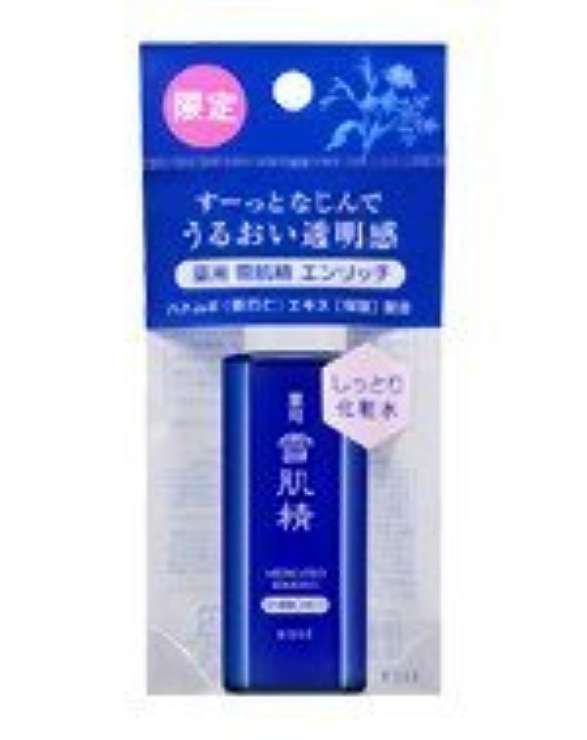 シャークいつシガレット4本セット 【限定】 kose 薬用 雪肌精 【ミニ】 24ml エンリッチ