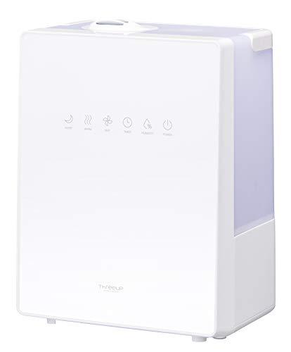 スリーアップ ハイブリッド加湿器 NEWスクエアミスト 湿度コントロール機能付 ホワイト HB-T1825WH