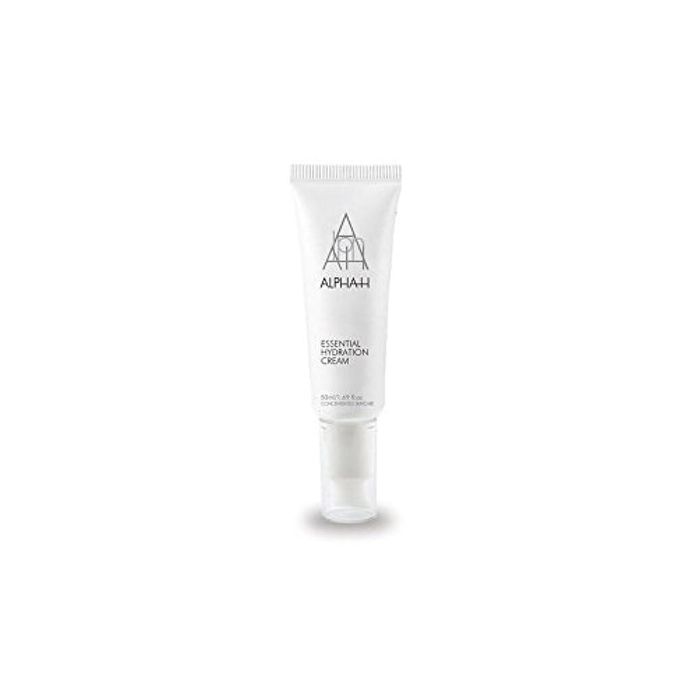 サスペンドどっち死すべきAlpha-H Essential Hydration Cream (50ml) (Pack of 6) - アルファ必須水和クリーム(50)中 x6 [並行輸入品]