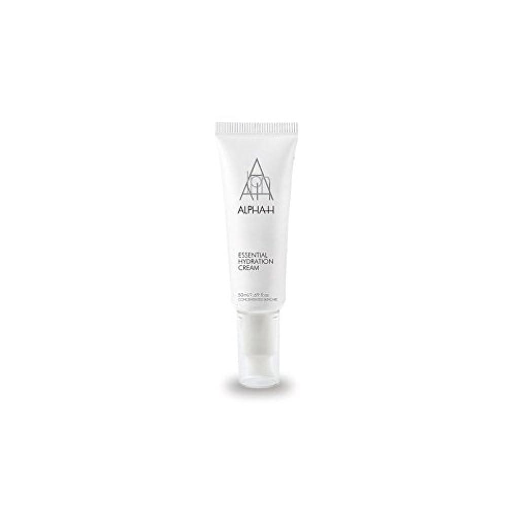 必要性画像ピストンアルファ必須水和クリーム(50)中 x4 - Alpha-H Essential Hydration Cream (50ml) (Pack of 4) [並行輸入品]