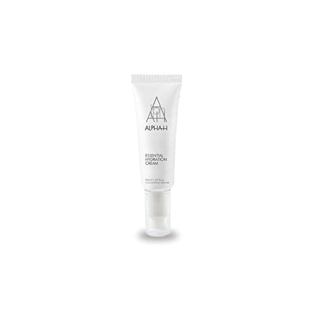 下手必要性アテンダントアルファ必須水和クリーム(50)中 x2 - Alpha-H Essential Hydration Cream (50ml) (Pack of 2) [並行輸入品]