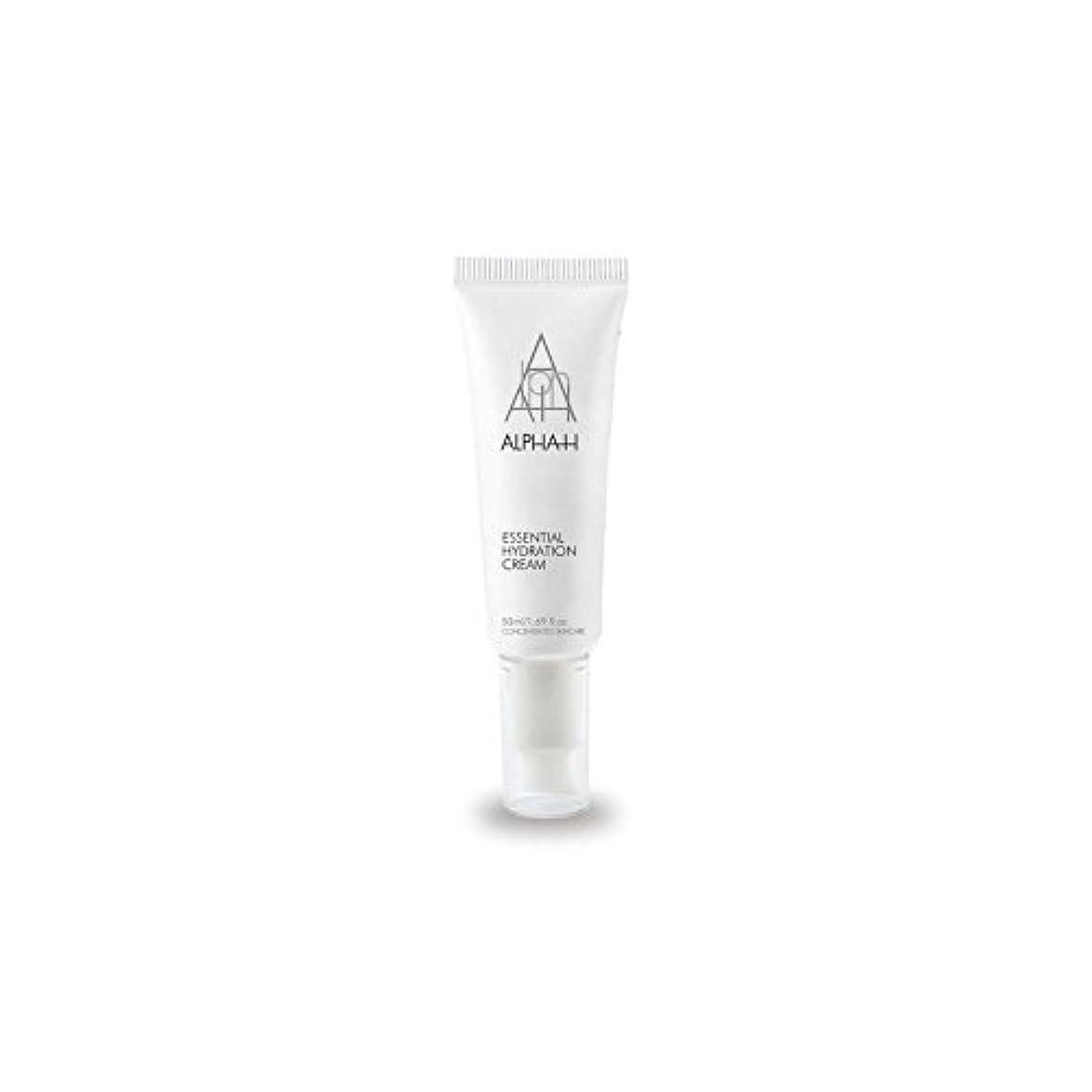 降雨反対する乳アルファ必須水和クリーム(50)中 x4 - Alpha-H Essential Hydration Cream (50ml) (Pack of 4) [並行輸入品]