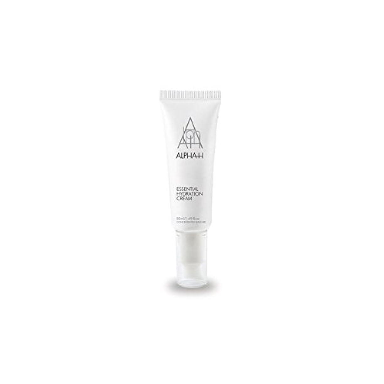 イブニング屋内で下手Alpha-H Essential Hydration Cream (50ml) - アルファ必須水和クリーム(50)中 [並行輸入品]