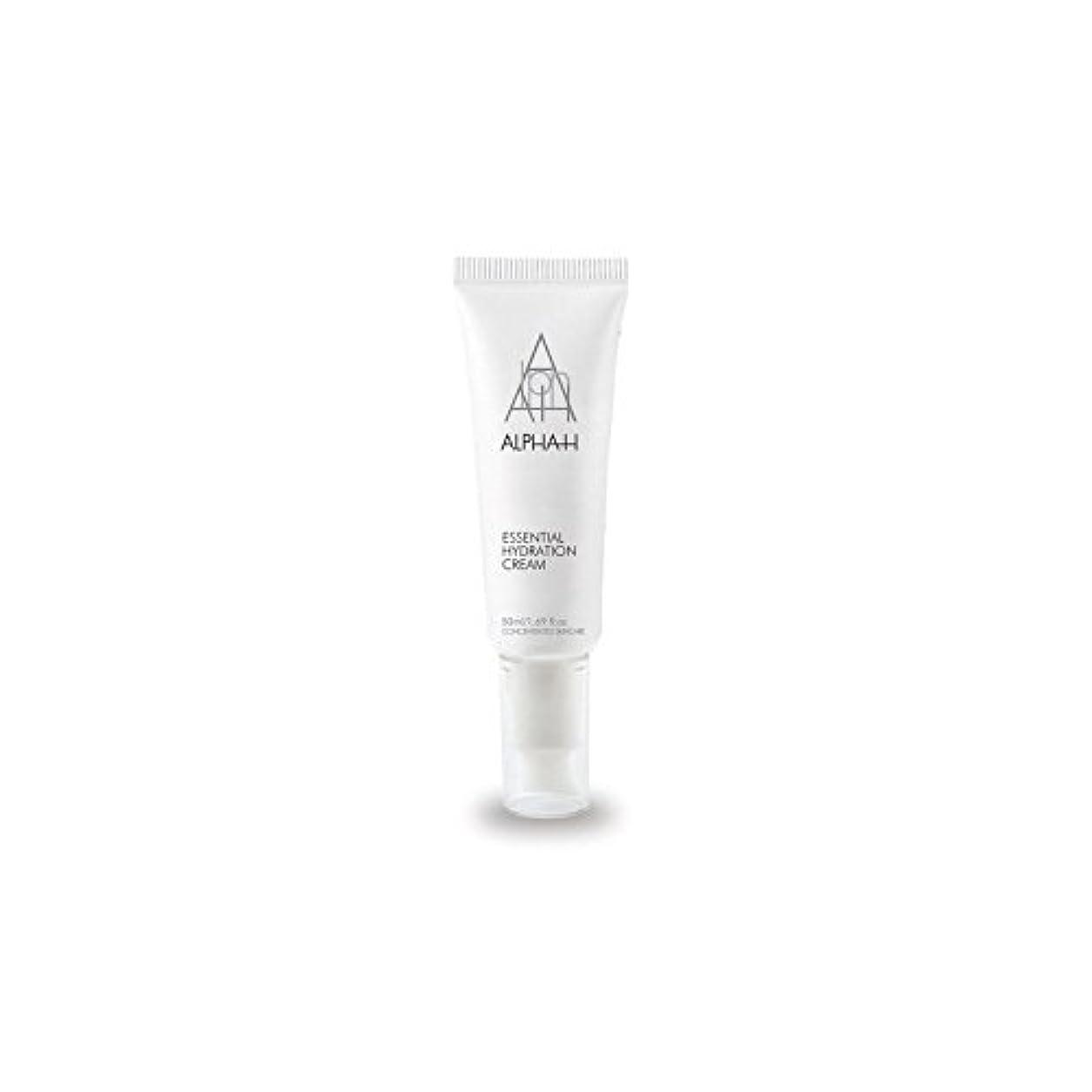 奇跡的なちらつきナースアルファ必須水和クリーム(50)中 x2 - Alpha-H Essential Hydration Cream (50ml) (Pack of 2) [並行輸入品]