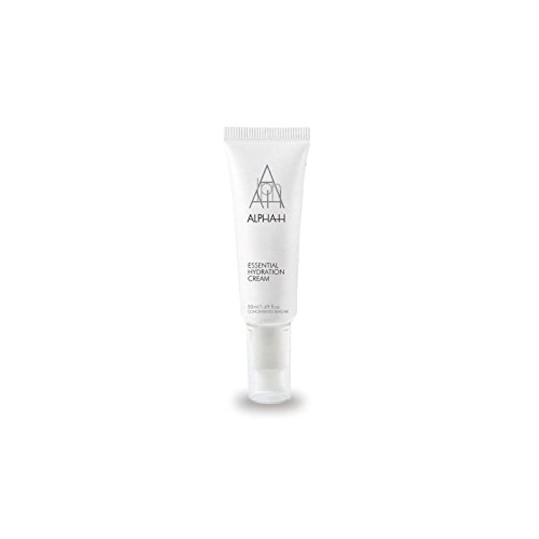 にやにや印刷する合計Alpha-H Essential Hydration Cream (50ml) - アルファ必須水和クリーム(50)中 [並行輸入品]