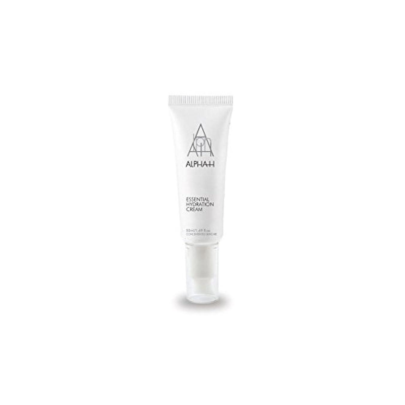 パキスタン人距離罹患率アルファ必須水和クリーム(50)中 x4 - Alpha-H Essential Hydration Cream (50ml) (Pack of 4) [並行輸入品]