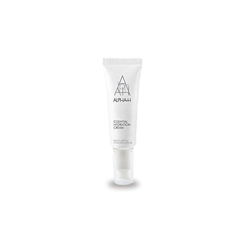 平方遠い時間厳守アルファ必須水和クリーム(50)中 x4 - Alpha-H Essential Hydration Cream (50ml) (Pack of 4) [並行輸入品]