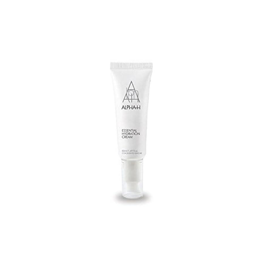 ジョージハンブリー豆腐郵便局アルファ必須水和クリーム(50)中 x4 - Alpha-H Essential Hydration Cream (50ml) (Pack of 4) [並行輸入品]