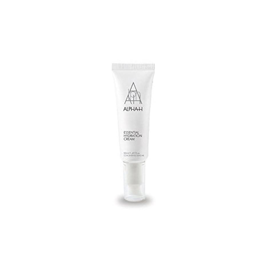 インド科学的ウォーターフロントAlpha-H Essential Hydration Cream (50ml) (Pack of 6) - アルファ必須水和クリーム(50)中 x6 [並行輸入品]