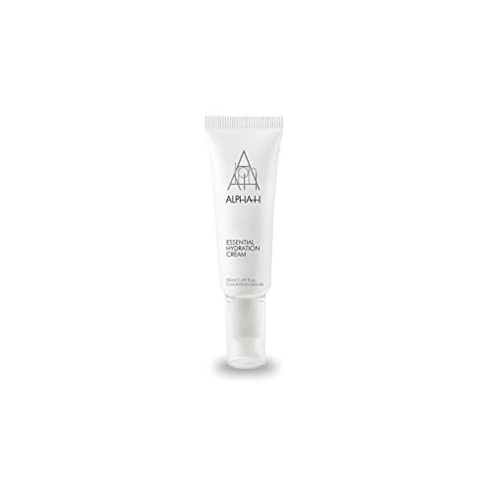 食べるホイップ国勢調査アルファ必須水和クリーム(50)中 x4 - Alpha-H Essential Hydration Cream (50ml) (Pack of 4) [並行輸入品]