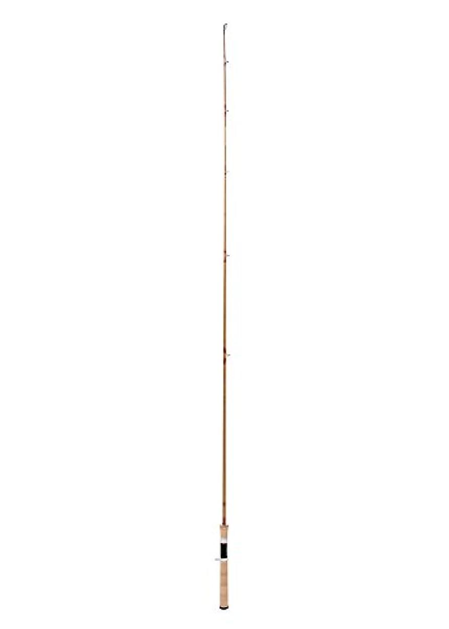 ハイランドオーバーランロッカー山下工芸 (Yamasita Craft) バンブーロッド ロッド バス用 ワンピース 88160003 ブラックウッド?シルバー?ローズ