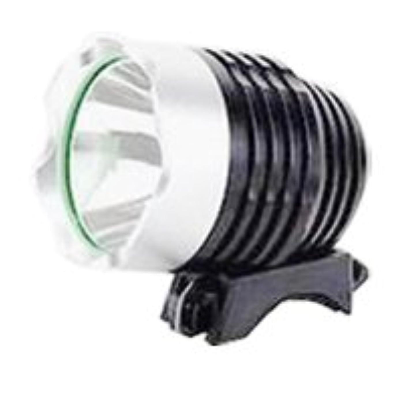 シネマたまに温度計【正規輸入品】SimPretty_HighClass USB電源が使える超強力ライト! 900ルーメン(市販の1200ルーメン相当) XML-T6 超高輝度LED 防水 充電自転車ヘッドライト 自転車ライト+ヘッドライト2in1機能! 明るさは2段階で調節可能! 各種モバイルバッテリー対応! サイクリング?アウトドア?夜釣りなど、夜間の野外活動に最適! 900LM 1200LM moblile battery サイクルヘッドライト USB接続タイプ(グレー)