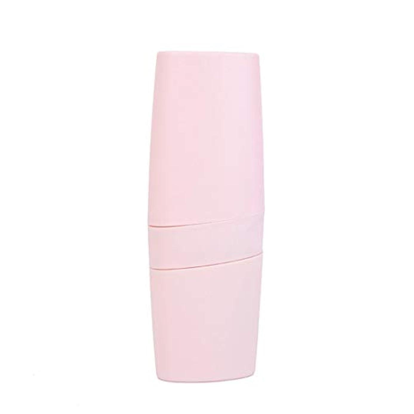 追い付く不定学期Swiftgood 携帯用歯ブラシケース通気性歯磨き粉プラスチック収納ボックス大型歯ブラシケース