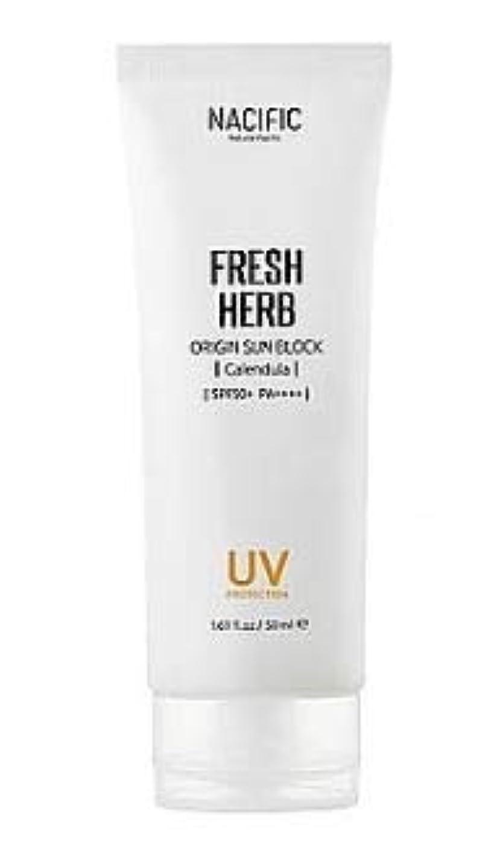 血色の良いこどもの宮殿宿[Nacific] Fresh Herb Origin Sun Block 50ml /[ナシフィック]フレッシュ ハーブ オリジン サンブロック(カレンデュラ) 50ml [並行輸入品]