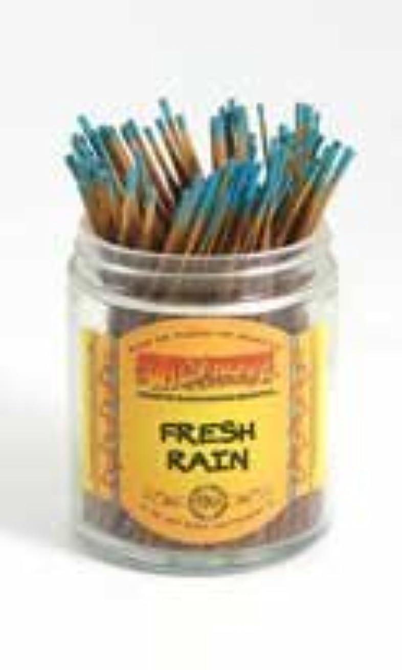 単語盆地緩やかなFresh Rain – Wild Berry Shorties Incense Sticks – 100