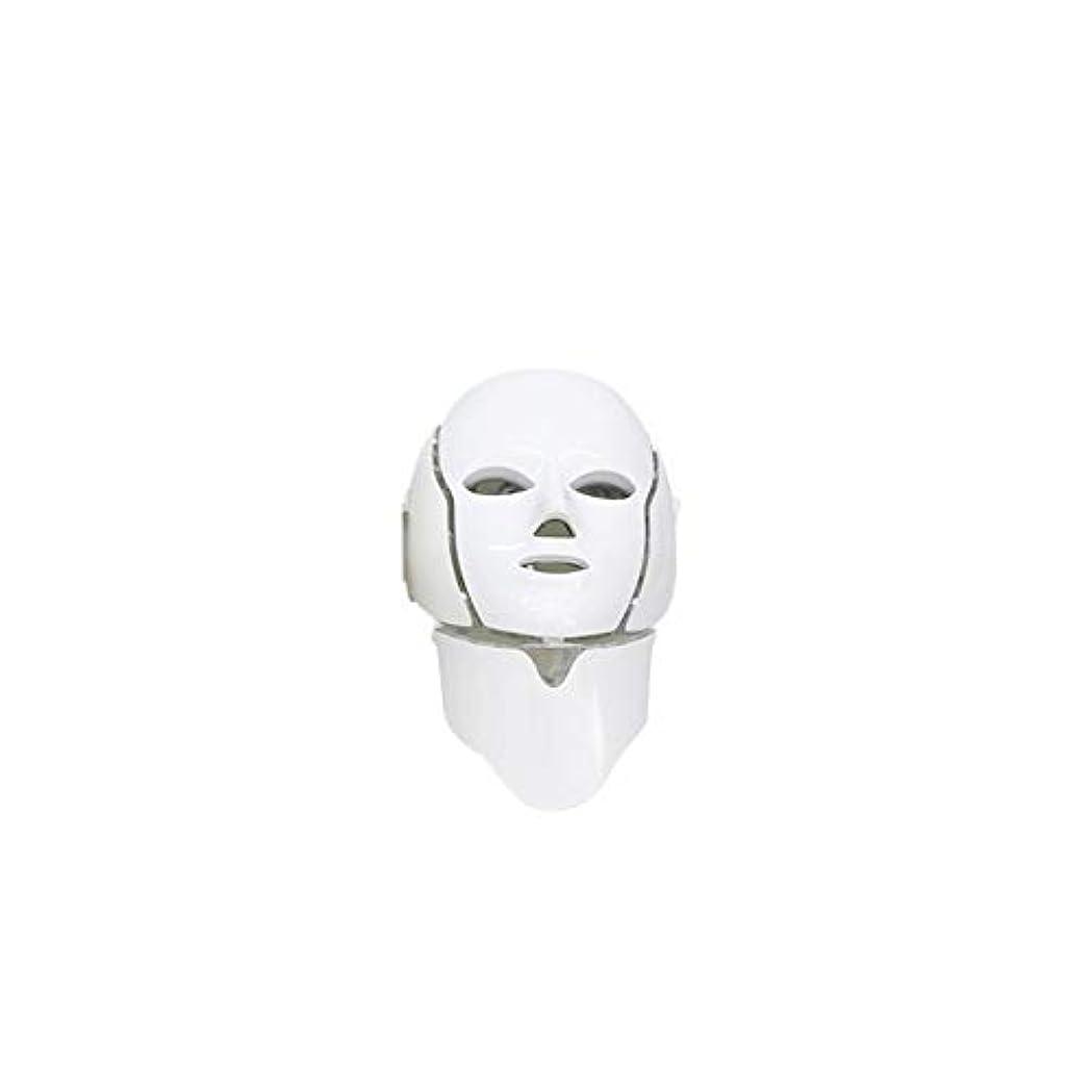 ヘッドレス歩くテレビ局Onepeak 美肌若返りマイクロ電流マスク楽器ネックネックマスク7色フォトニックニキビ美肌ホーム