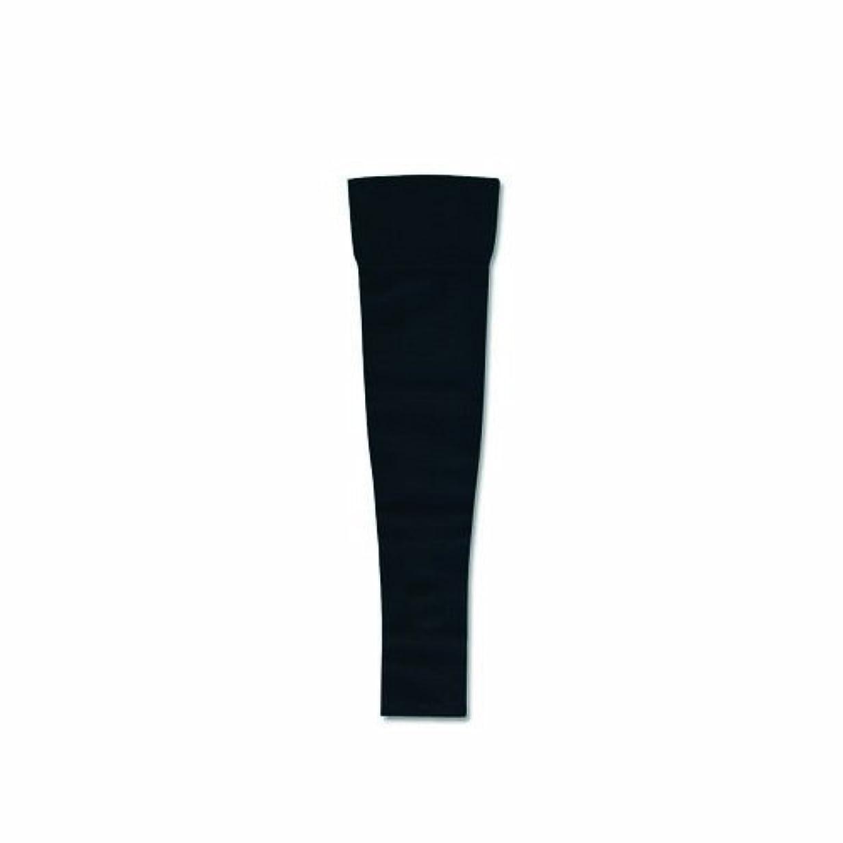 男やもめその混合リンパディーバ アームスリーブ(ミトンなし) Mサイズ オニキスブラック色 圧迫力27-40Hpa(20-30mmHg)