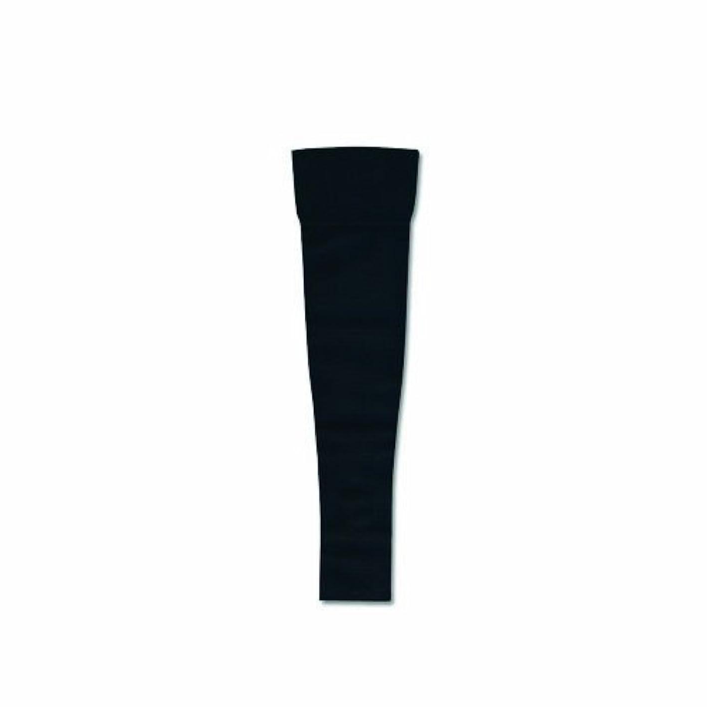 マスタードごちそう戦士リンパディーバ アームスリーブ(ミトンなし) Lサイズ オニキスブラック色 圧迫力27-40Hpa(20-30mmHg)