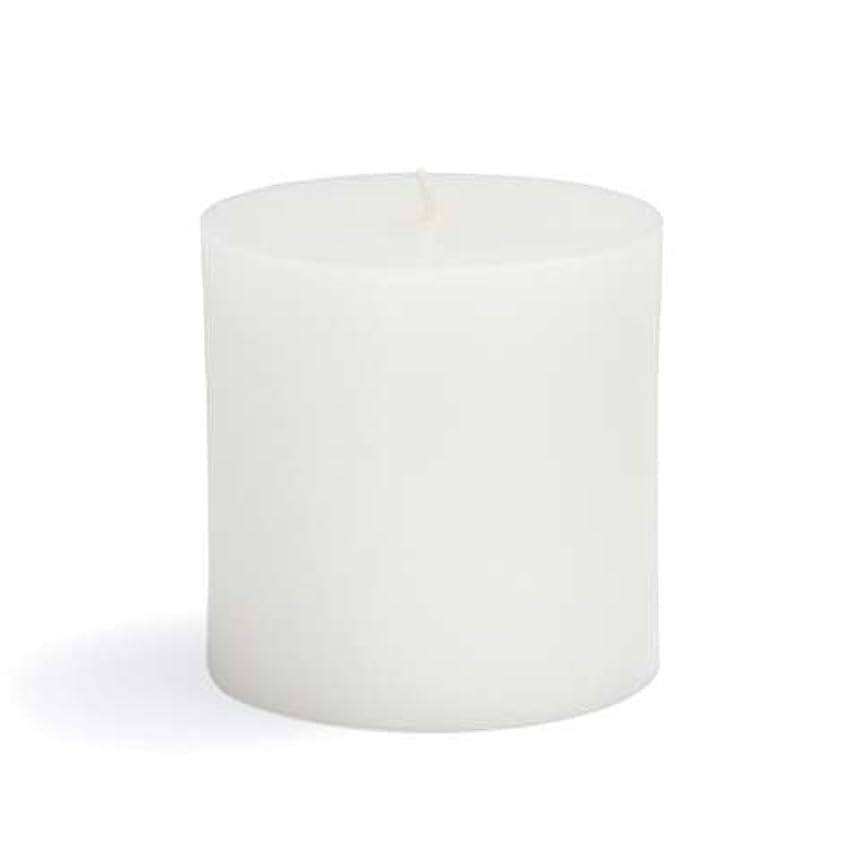 複雑クラブレッスンZest Candle CPZ-071-12 3 x 3 in. White Pillar Candles -12pcs-Case- Bulk