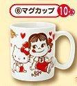 サンリオ くじ ペコちゃん × キティちゃん マグカップ