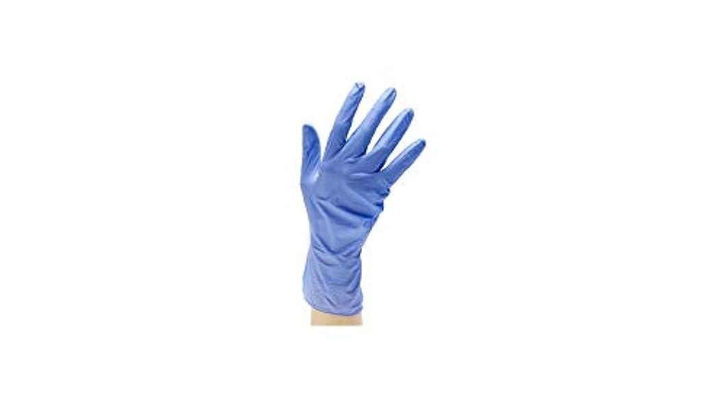 環境かみそり運搬TRUSCO(トラスコ) ニトリル製使い捨て極薄手袋 粉無し (200枚入)
