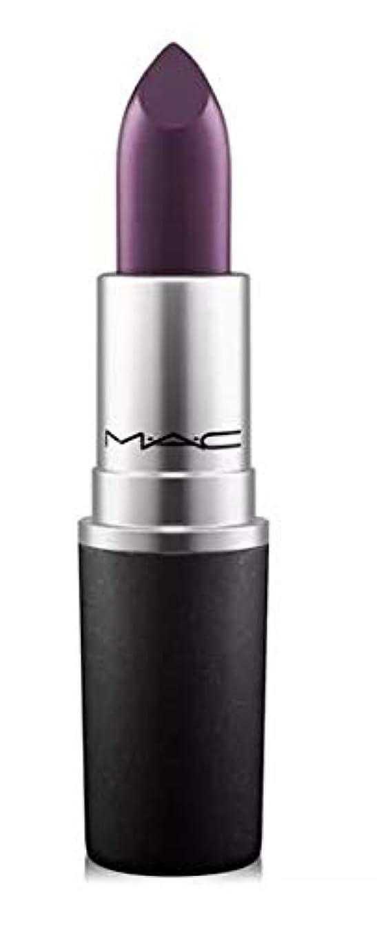 規制する食用適用するマック MAC Lipstick - Plums Cyber - intense blackish-purple (Satin) リップスティック [並行輸入品]