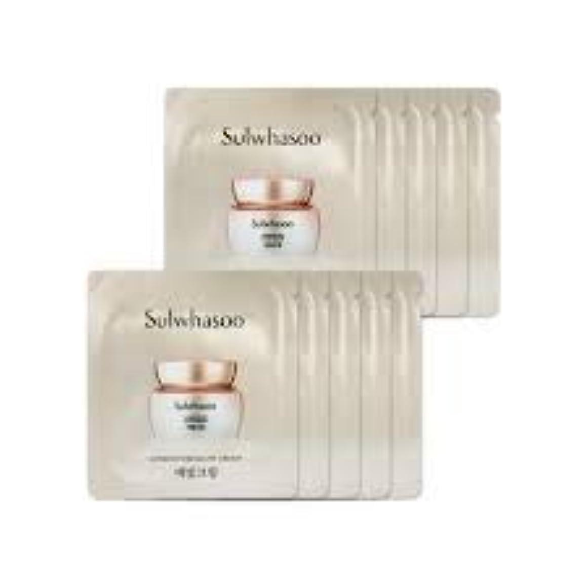橋日付付きゲート[ソルファス ] Sulwhasoo (雪花秀) ルミナチュアグロー Luminature Glow Cream 1ml x 30 (イェビトクリーム) [ShopMaster1]