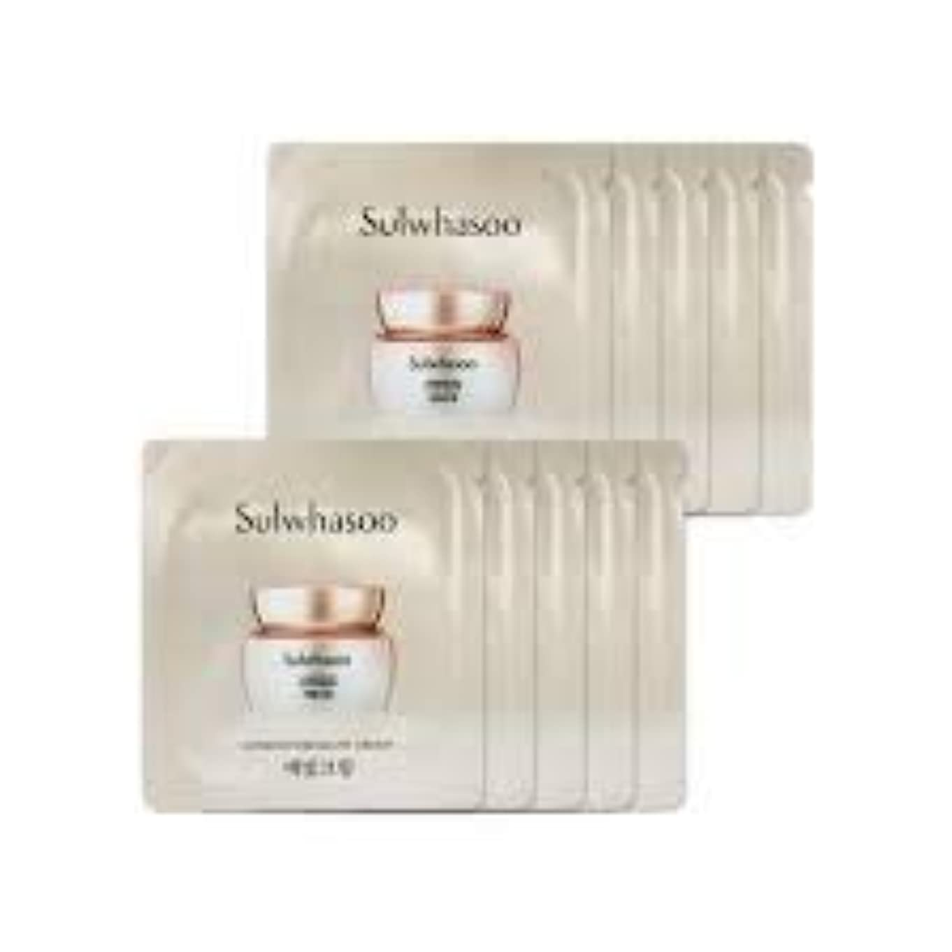特異性労働新鮮な[ソルファス ] Sulwhasoo (雪花秀) ルミナチュアグロー Luminature Glow Cream 1ml x 30 (イェビトクリーム) [ShopMaster1]