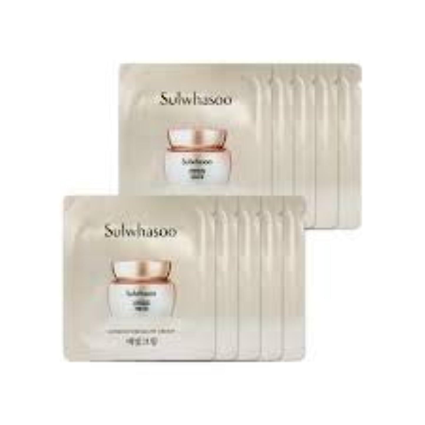 移植人質出席する[ソルファス ] Sulwhasoo (雪花秀) ルミナチュアグロー Luminature Glow Cream 1ml x 30 (イェビトクリーム) [ShopMaster1]