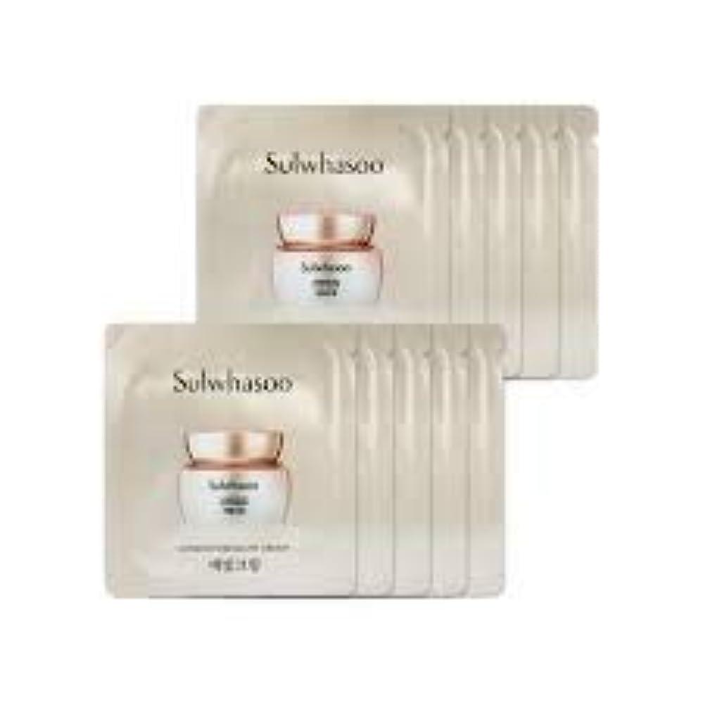 淡いショットにもかかわらず[ソルファス ] Sulwhasoo (雪花秀) ルミナチュアグロー Luminature Glow Cream 1ml x 30 (イェビトクリーム) [ShopMaster1]