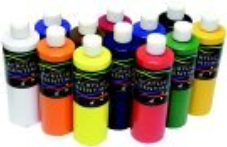 Chroma Acrylic Essential Set - 1 Pt. Bottle, Set 12