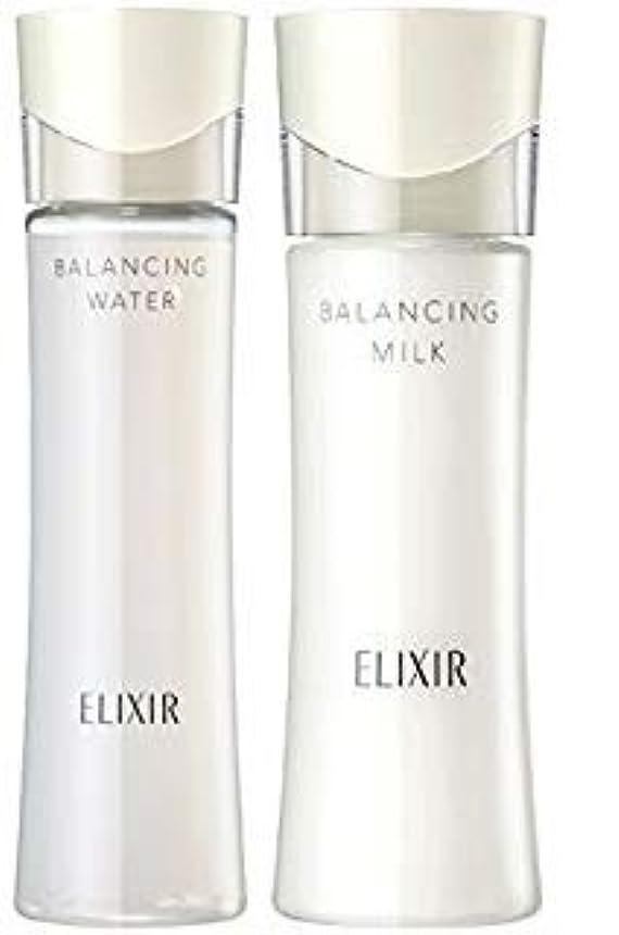 主観的合併化学薬品エリクシール ルフレ バランシング ウォーター2 化粧水168ml+乳液130mL (とろとろタイプ) セット